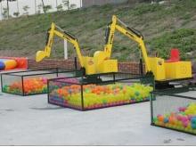 与风筝相媲美的山东潍坊儿童游乐挖掘机厂家