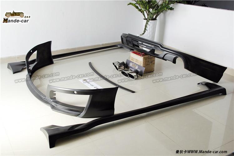 黑色战袍A7改装WALD包围奥迪A7改装中网