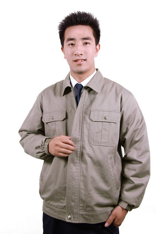 加厚全棉工作服套装男春秋 劳保服 汽修服工装制服 工服套装