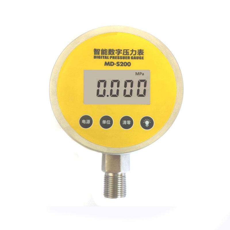 MD-S200全不锈钢电池供电数字压力表/峰值记录/数显压力表/
