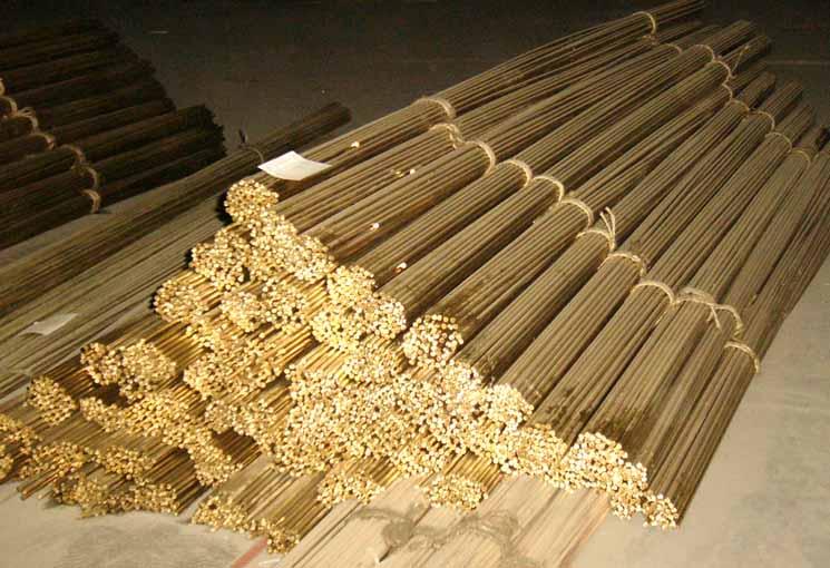 环保无铅黄铜方棒 易车削C3604铜棒 黄铜棒加工
