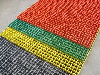 聚酯格栅板  玻璃钢格栅板  工业踏板