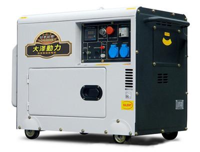 本田同等质量12kw大泽柴油发电机