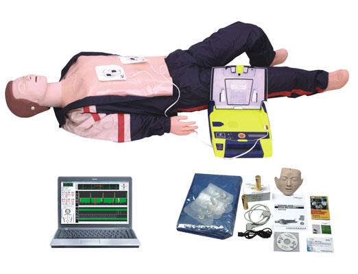 BLS850 电脑高级心肺复苏、AED除颤仪模拟人(计算机控制,