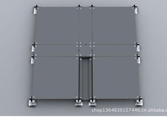 供应星峰全钢防静电地板