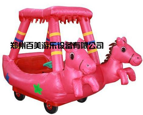 贵州新款卡通充气电瓶车,卡通气模车