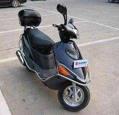 铃木豪爵海王星AN125价格 徐州市二手铃木豪爵踏板摩托车报价