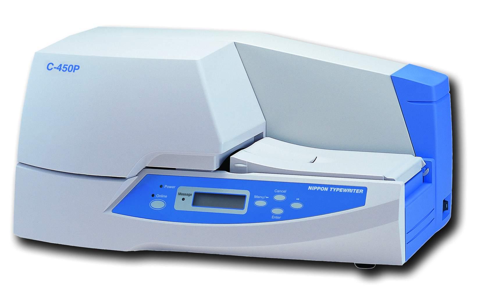 重庆佳能电缆标识牌打印机C-450P 丽标铭牌机