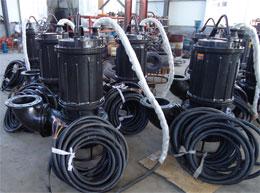 潜水自动抽黄沙泵、清淤泵、污泥泵