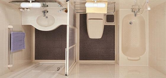 整体玻璃淋浴房