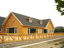 海锐德木屋小木屋木屋别墅景观木屋木房子