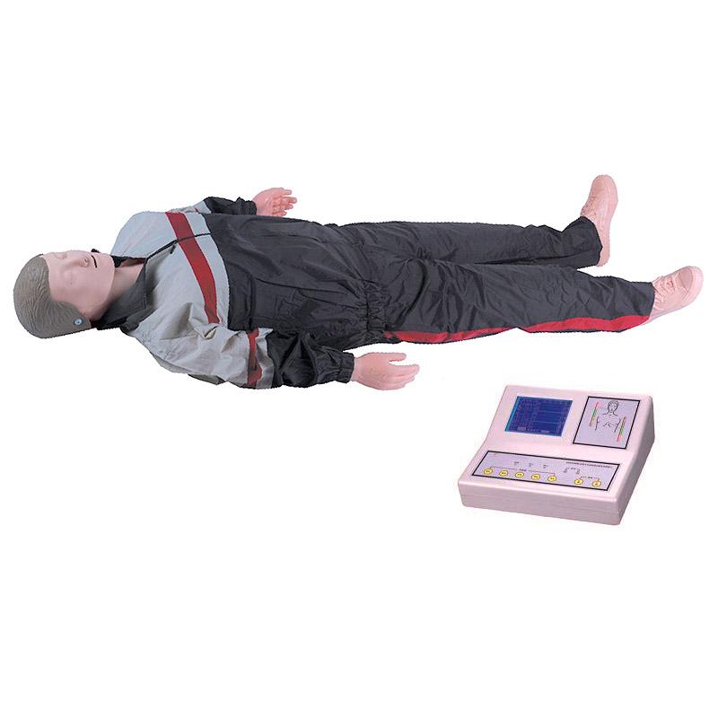 CPR500 大屏幕液晶彩显高级全自动电脑心肺复苏模拟人