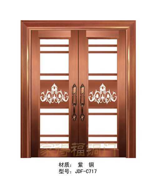 别墅庭院铜门-庭院铜门厂家-深圳铜门厂家-家得福
