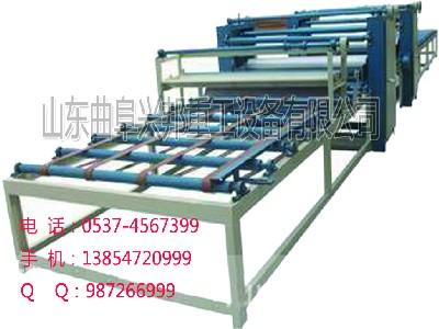 秸秆板生产设备 秸秆制板机价格