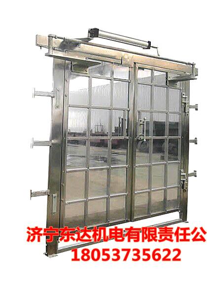 阻燃抗静电无压风门|矿用双向无压风门生产厂家