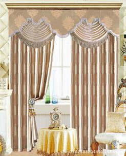 欧式酒店窗帘布