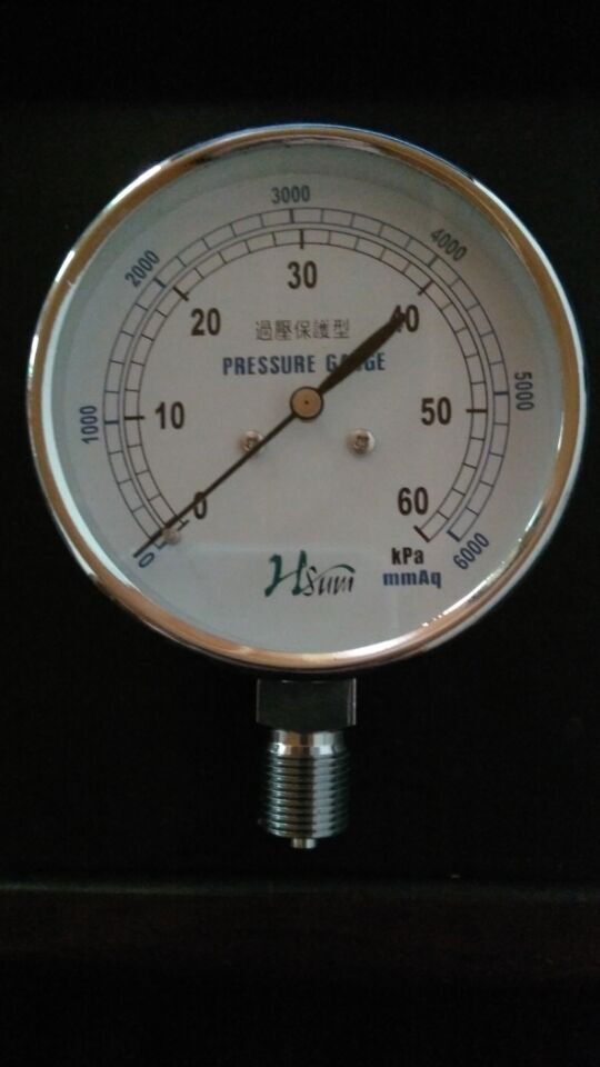 0-10kpa过压防止型压力表