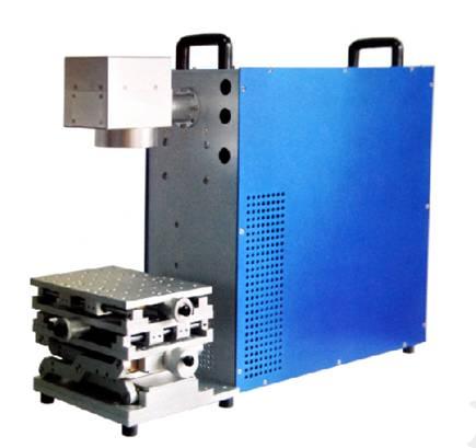广东广州白云钟表便携式金属光纤激光打标机