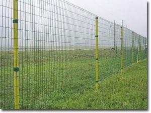厂家直销养殖绿色围栏网、养殖包塑荷兰网、建筑用围栏网
