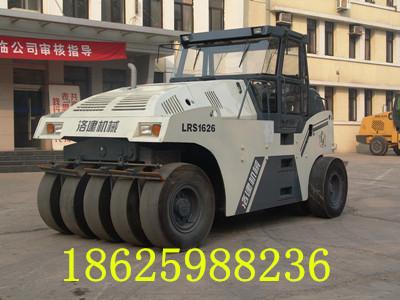16吨轮胎压路机同步变速胶轮压路机洛建LRS1626