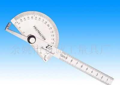 角度尺的读数和使用方法及校准流程