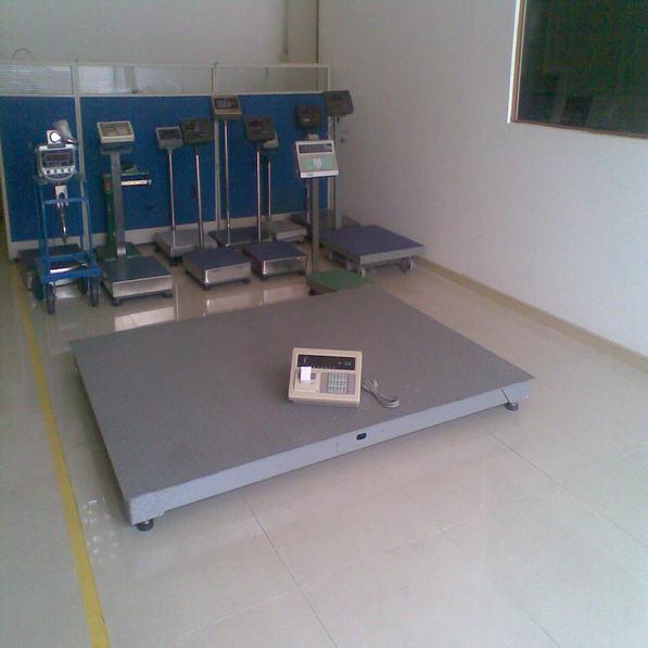 天津宏中电子地磅生产厂家2吨不锈钢地秤价格
