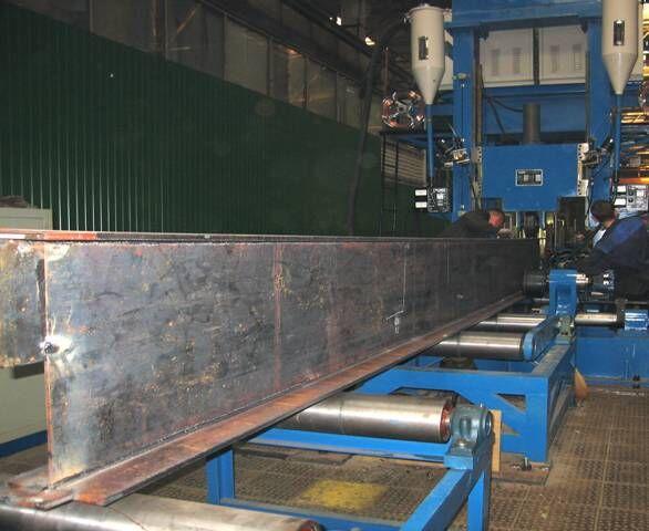 一体式H型钢自动焊接生产线