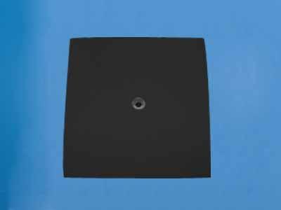 压延微晶板带孔微晶板