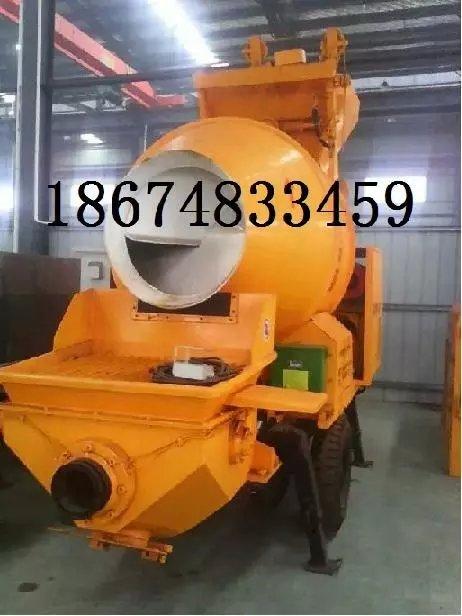 山西太原大同混凝土输送泵搅拌拖泵搅拌车载泵