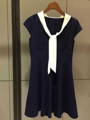 韩版流行短连衣裙批发夏季女装连衣裙批发雪纺连衣裙子