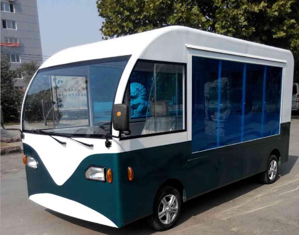 电动四轮快餐车 ,多功能美食车,房式流动早餐车,移动餐饮厨房车