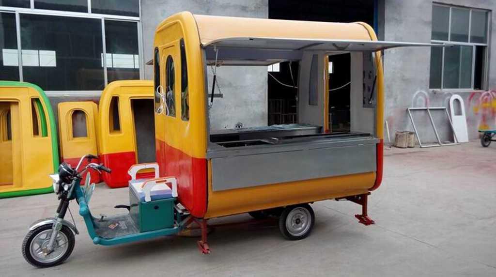 电动三轮小吃车,房车早餐车,流动餐房车