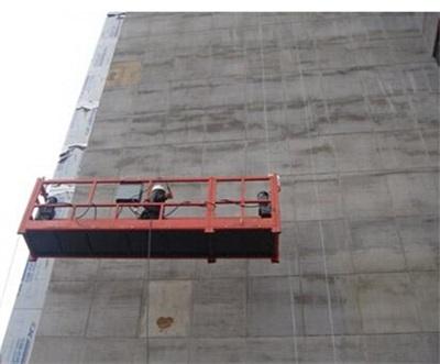 解读电动吊篮施工电动吊篮的施工安全技术检查试验