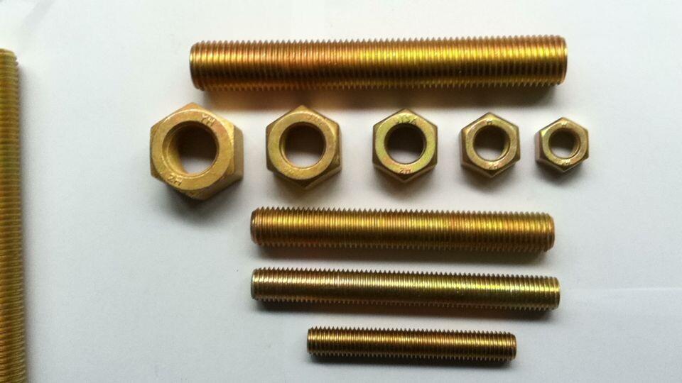 军工用镀镉螺栓,镀镉外六角螺栓,镀镉双头螺丝