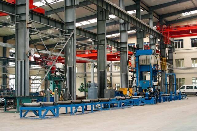 供应优质专用组焊矫H型钢一体机