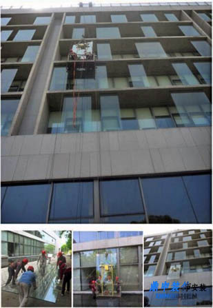 广州幕墙玻璃更换,幕墙打胶,玻璃幕墙打胶