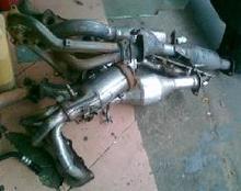 宝马760叶子板排气管拆车件永城现特价
