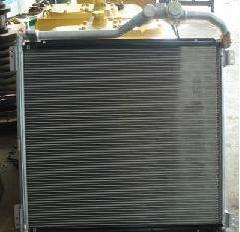 小松220-5挖掘机液压油散热器