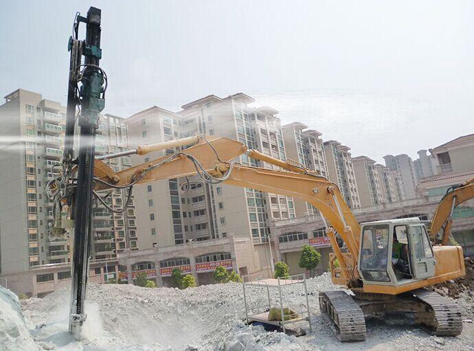 广西省挖改全液压凿岩钻机