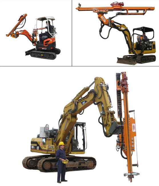 挖改潜孔钻机挖改液压钻机