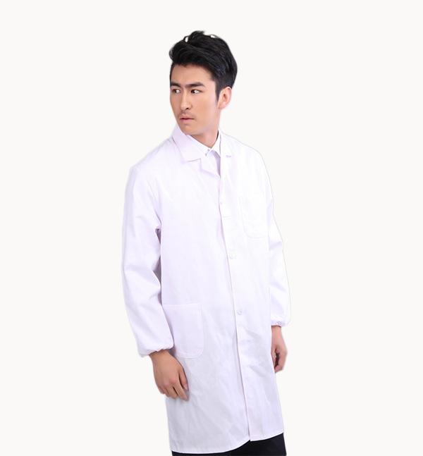 厂家直供亿诚制服YCYH-001男女款医生服白大褂长袖实验服护士服美容服装男