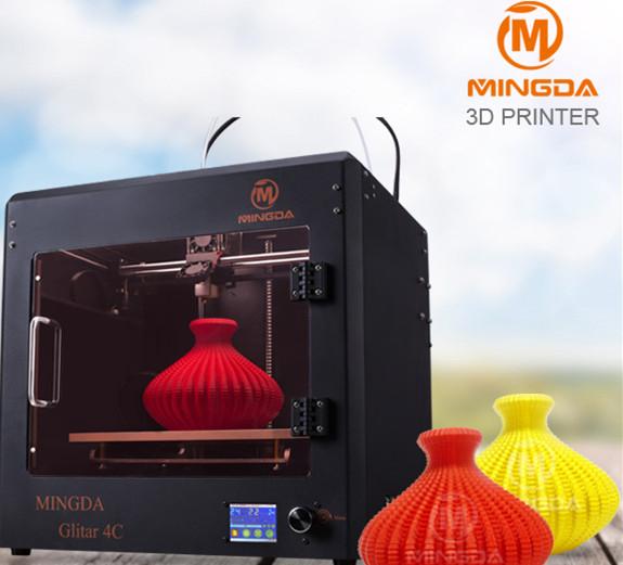 深圳MINGDA3Dprinter金属外型低成本高效率3D打印机