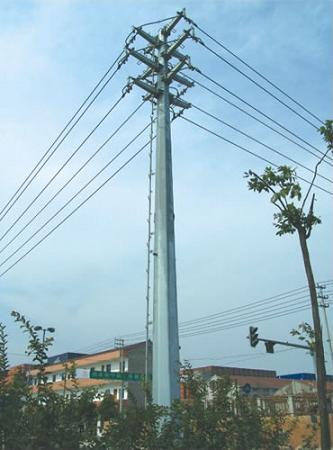 电力钢管杆 220KV电力钢杆电钢管杆价格