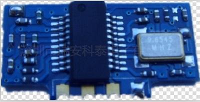 超高灵敏度390MHz无线接收模块RF射频模块超外差接收模