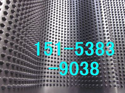 亳州车库种植排水板\车库绿化蓄排水板