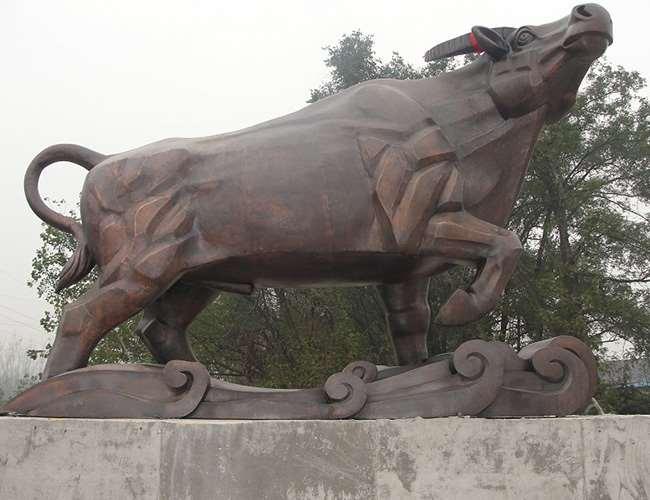 不锈钢动物雕塑制作