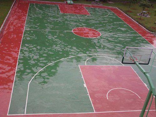 丙烯酸网球场地面翻新修补改造工程施工 硅PU塑胶网球场翻新