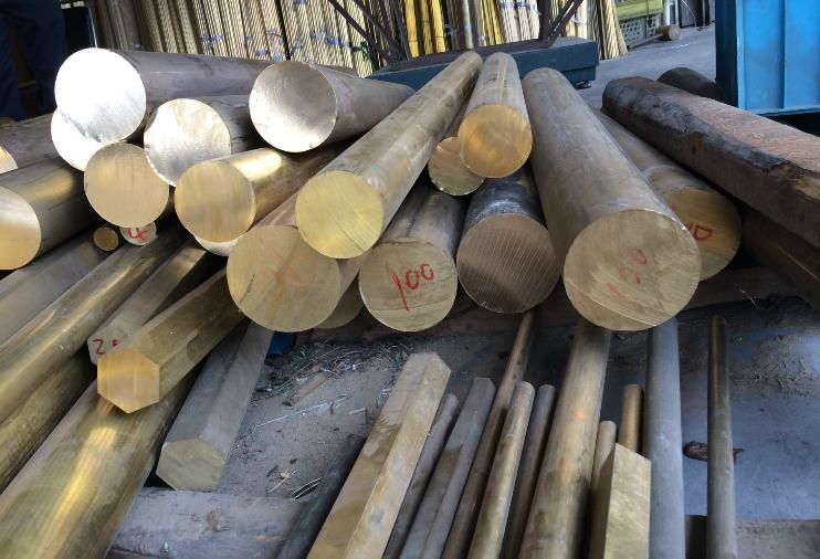 H59环保黄铜棒 H59铅黄铜棒 超小直径铜棒