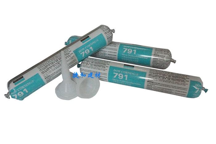 道康宁玻璃胶791硅酮耐候密封胶 进口玻璃胶