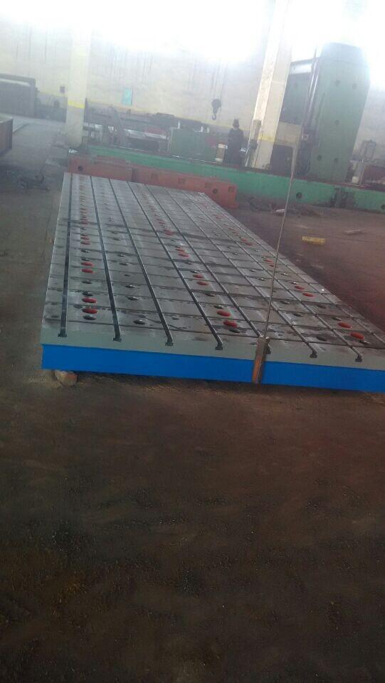 铸铁平台铸铁平板焊接平台铆焊平台